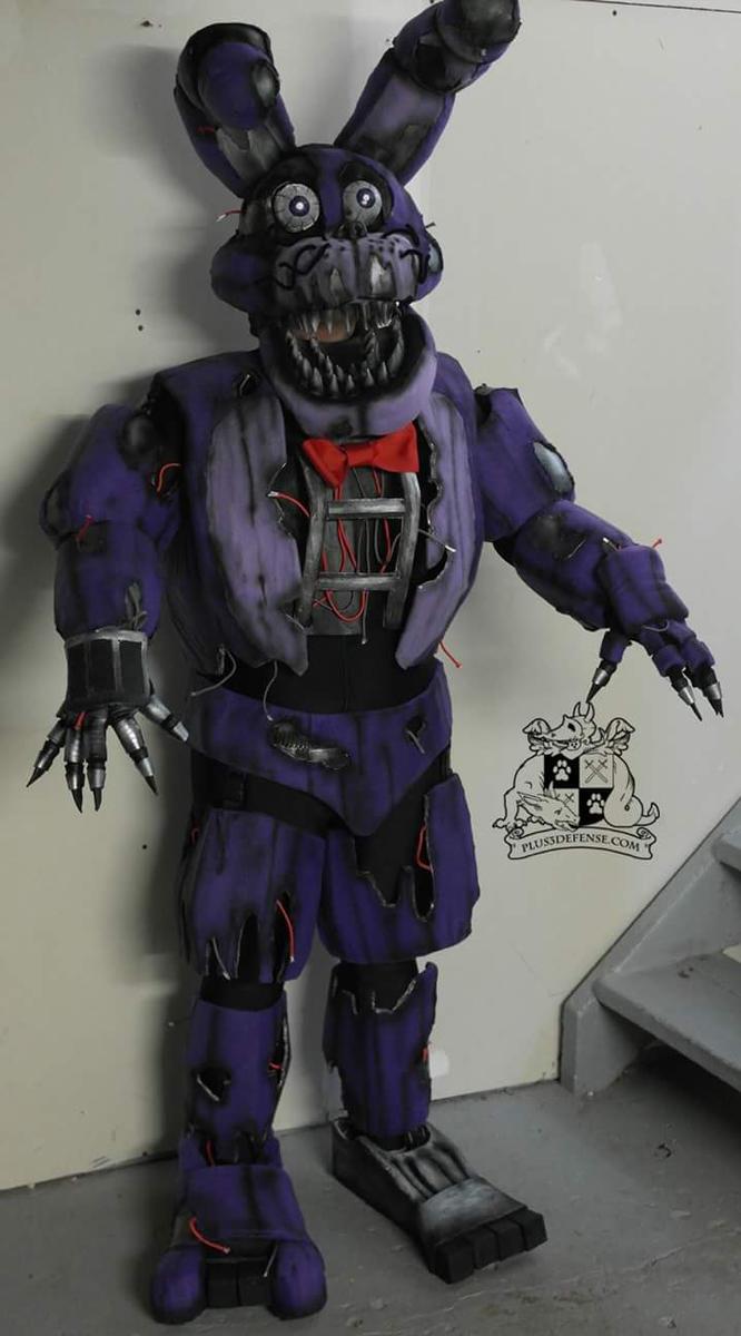 Nightmare Bonnie by Plus3Defense