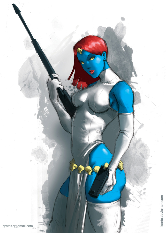 Mystique by licarto