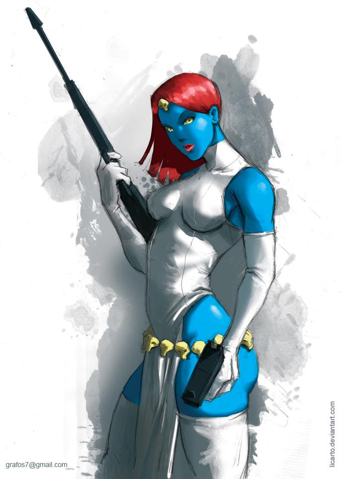 Mystique by licarto