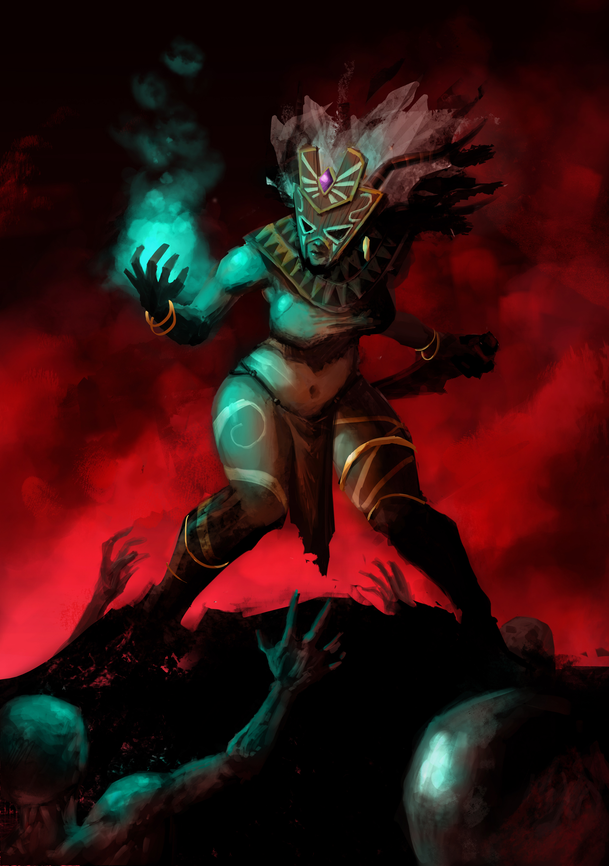 Witch Doctor Female By Licarto On Deviantart