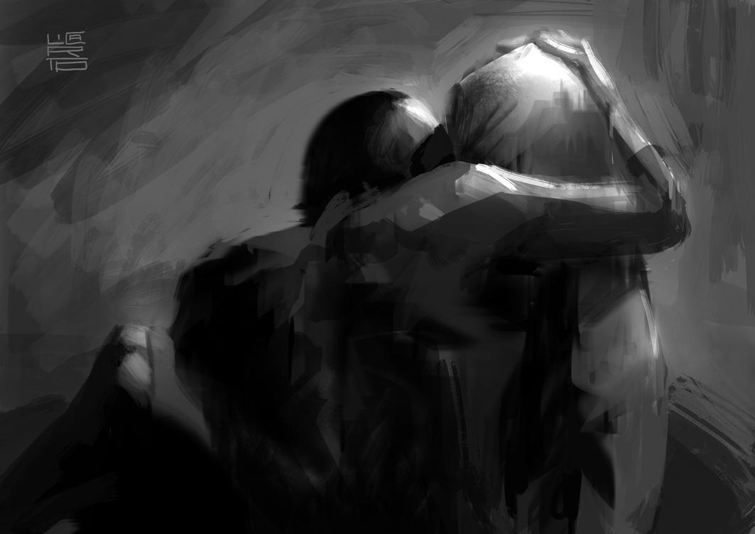 ...don't leave me Gwen by licarto