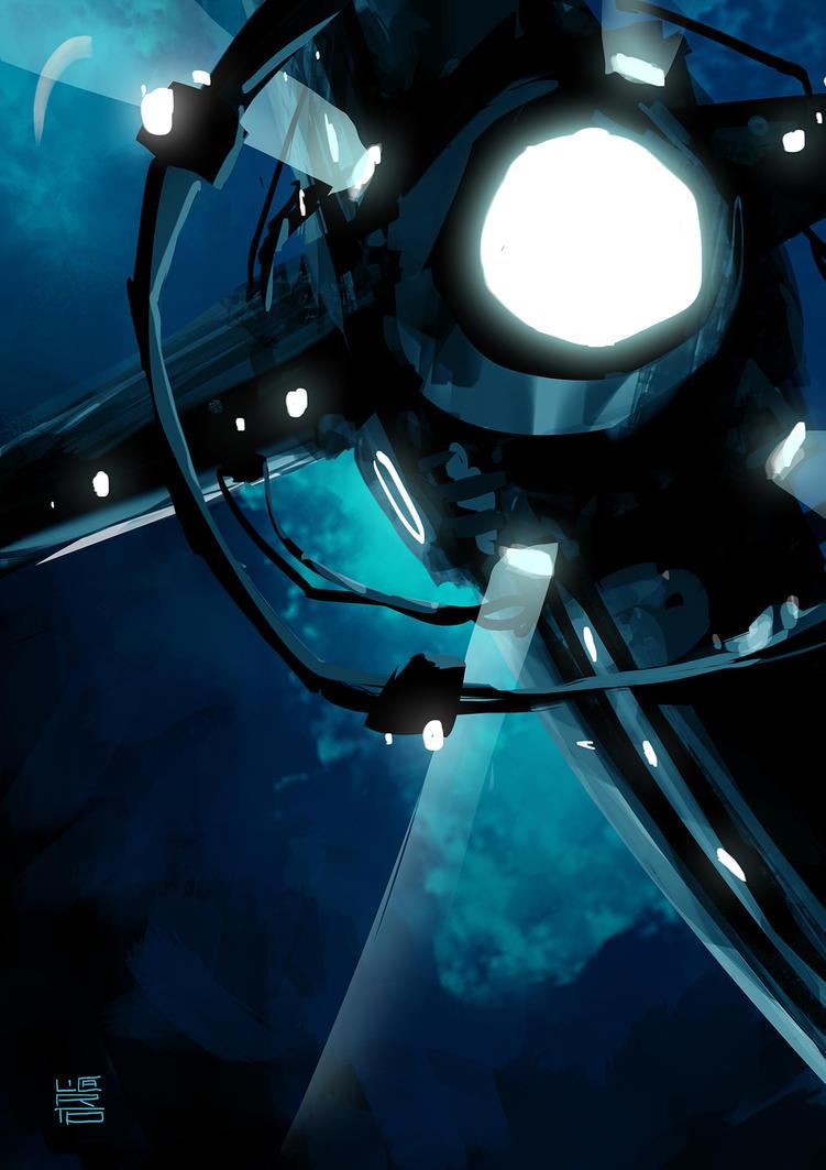 spaceShip by licarto