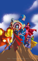 Avengers Classic by licarto