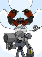 Holiday Request Snowball Fight by Dakazis-Bro