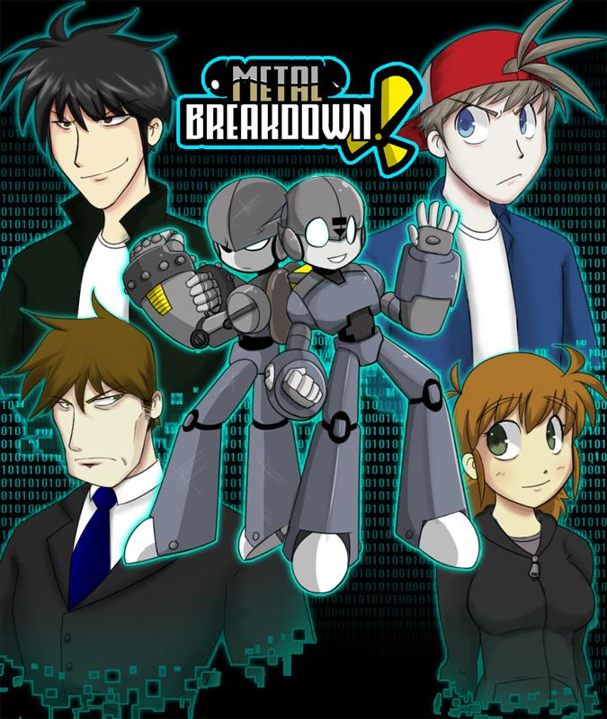Metal Breakdown Cover 1 by Dakazis-Bro