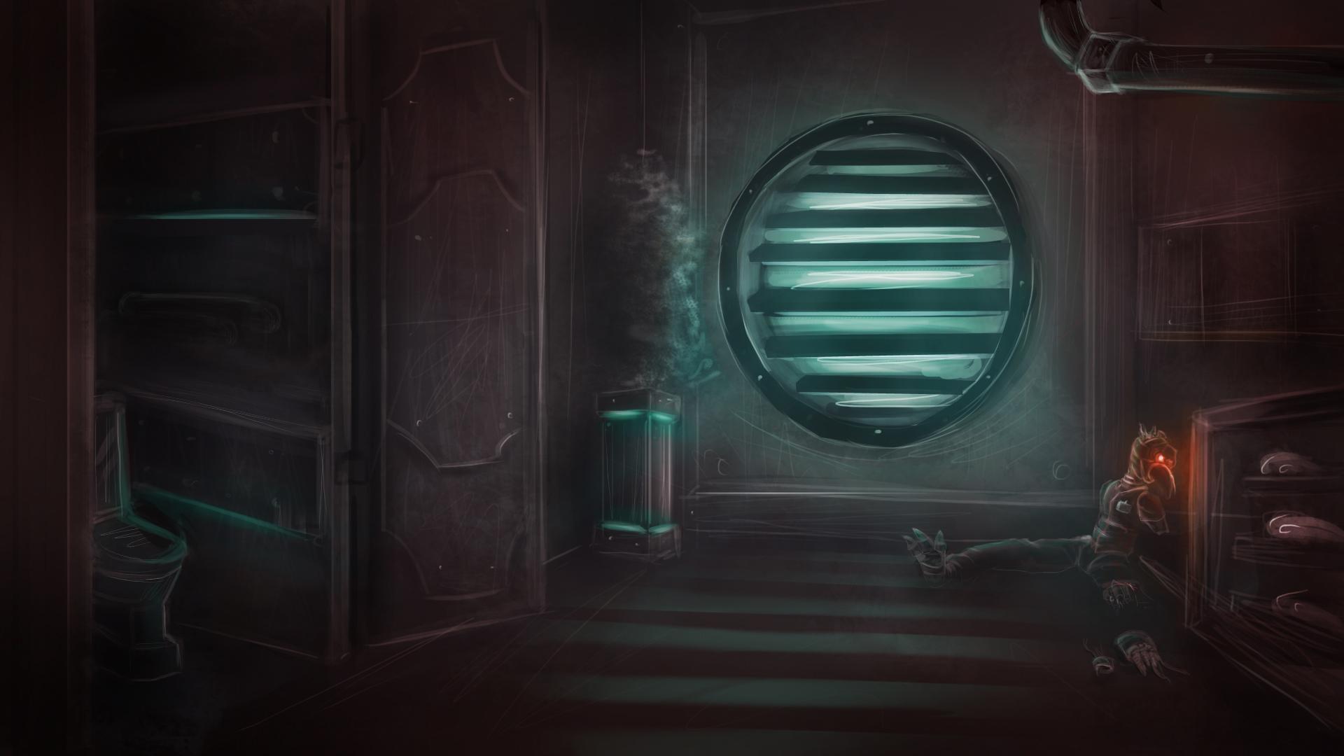 Sci Fi Environment Concept by MakingMeNervous on DeviantArt