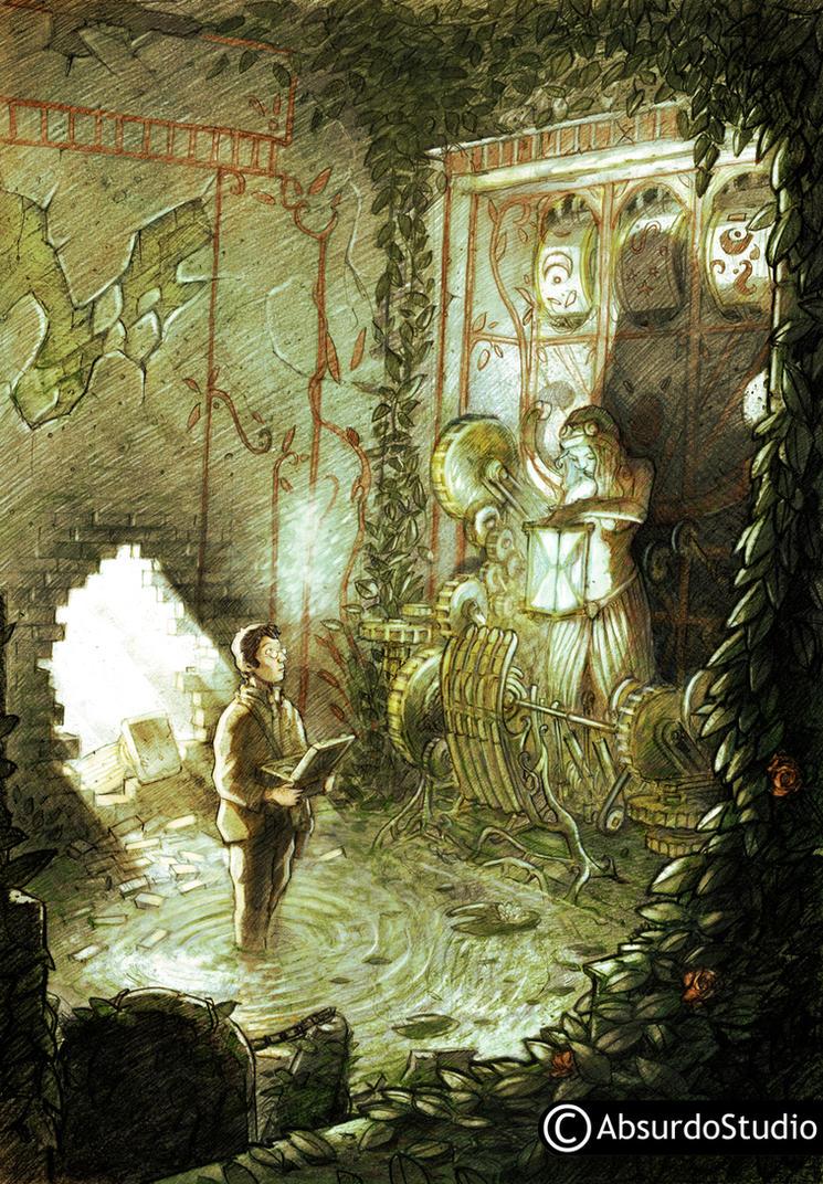 timekeeper's tomb color by Absurdostudio-Krum