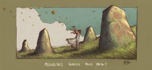 Voeux2014 by Absurdostudio-Krum
