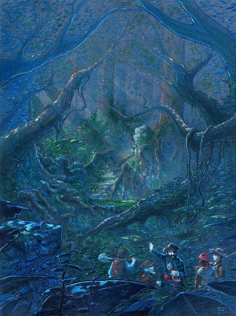 Beyond this jungle... by Absurdostudio-Krum