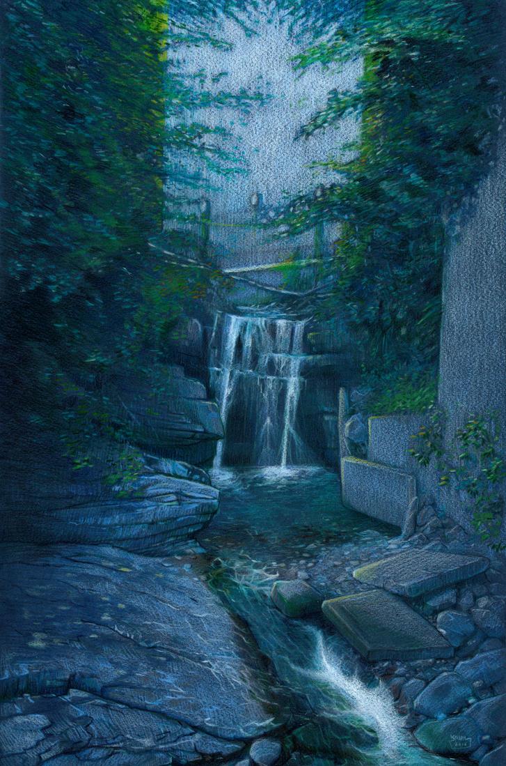 Gorges du Chauderon (near Montreux CH) by Absurdostudio-Krum