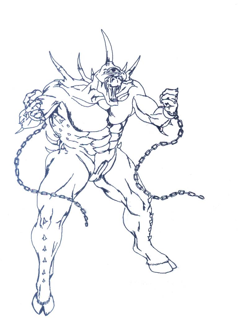 Demon Abaddon By Alamat Ng Lakan On Deviantart
