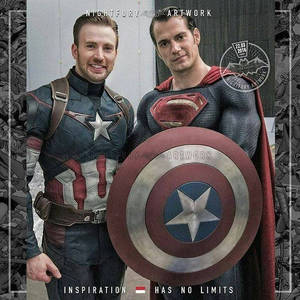 Captain America and Superman