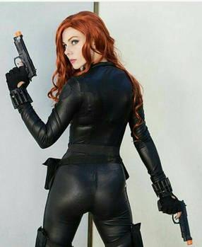 Black Widow Cosplayer