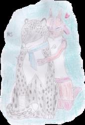 [Req] Albie + Michen hug by MichenSneeuwhart