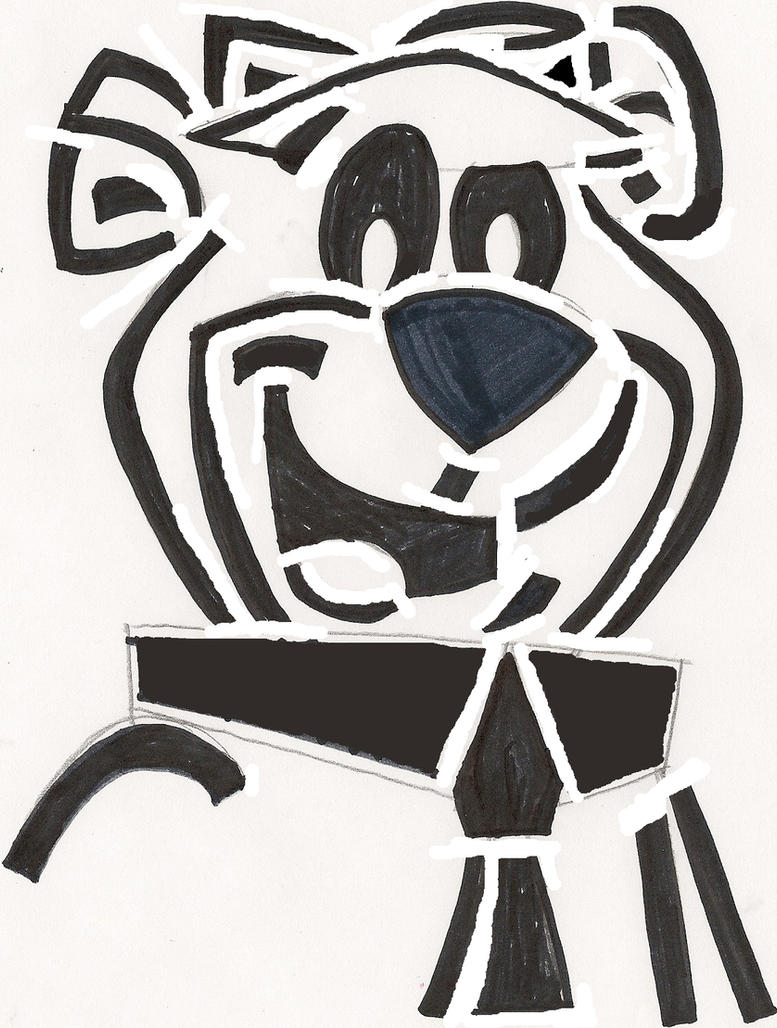 Yogi Bear Stencil by CooperGal24 on DeviantArt