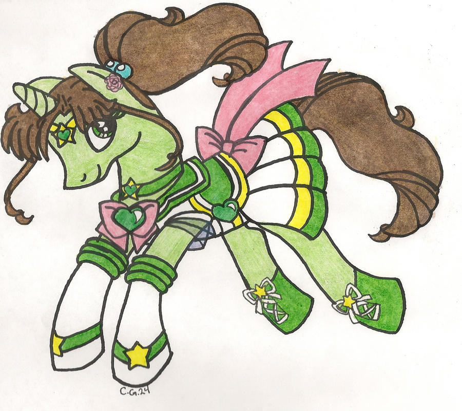 S.Sailor Jupiter Pony by CooperGal24