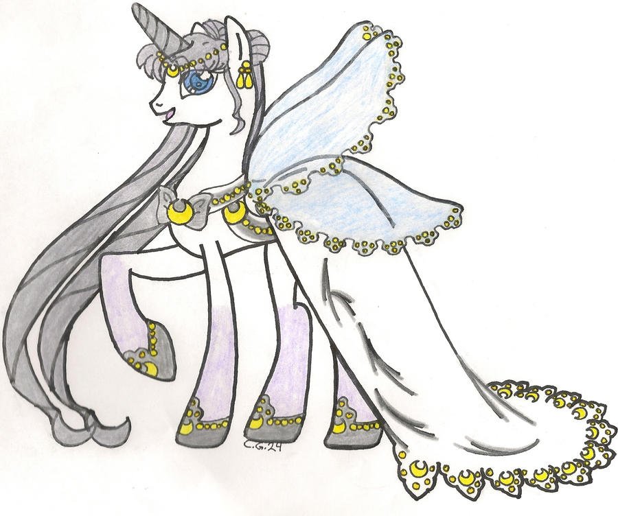 Queen Serenity Alicorn Pony By CooperGal24 On DeviantArt
