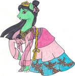 MLP: FiM Disney Princess Mulan