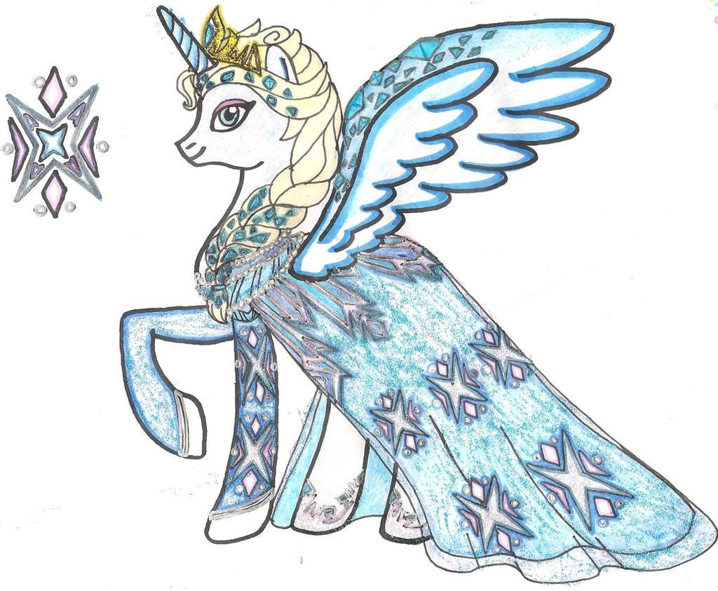 MLP: FiM Disney Princess Special: Elsa by CooperGal24 on DeviantArt