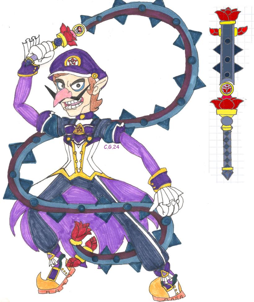 Magical Hero Waluigi by CooperGal24