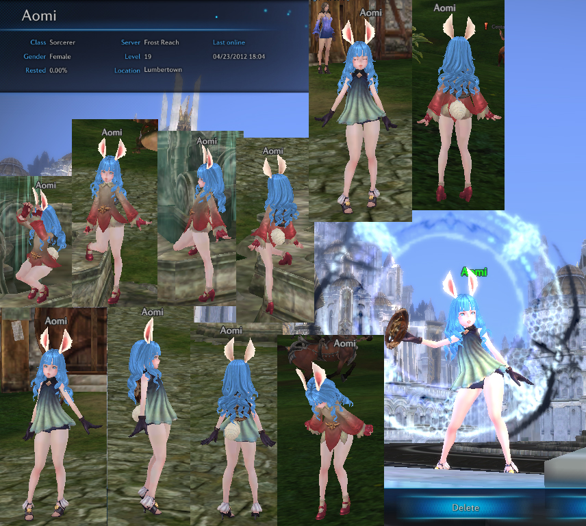 TERA Online AOMI THE ELIN by AomiArmster