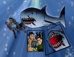 James Bond vs Henchman vs Shark