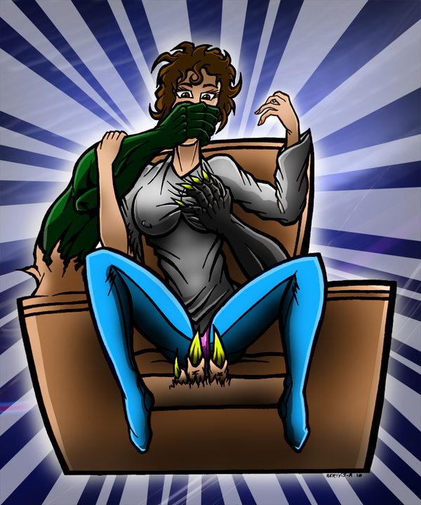 Dana Barret S Chair Coloured By Berty J A On Deviantart