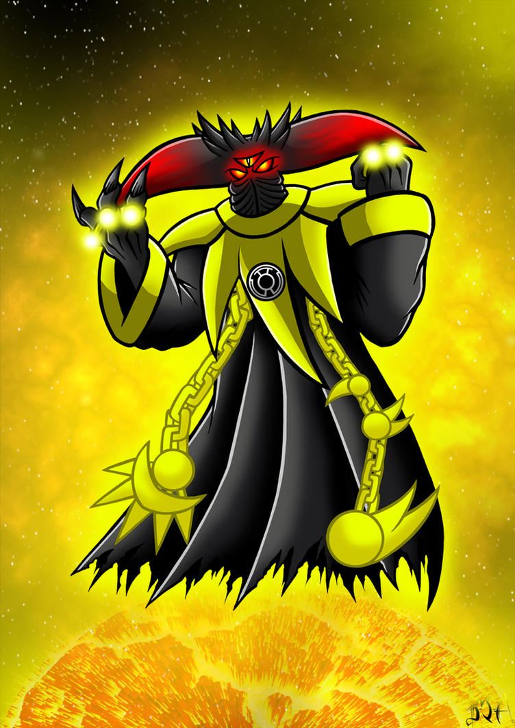 yellow lantern black - photo #20