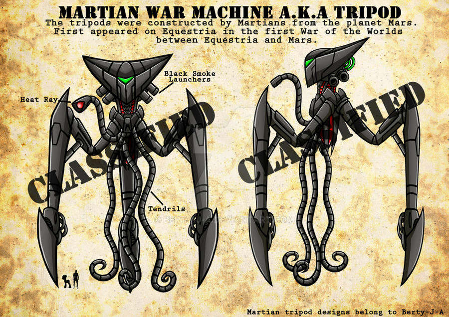 Martian War Machine by Berty-J-A
