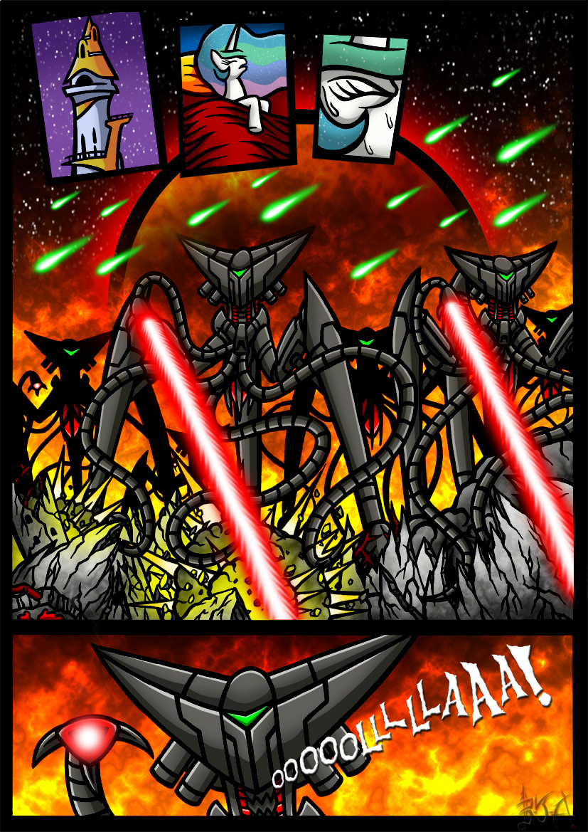 Equestria's War of the Worlds Page 3 by Berty-J-A on ...