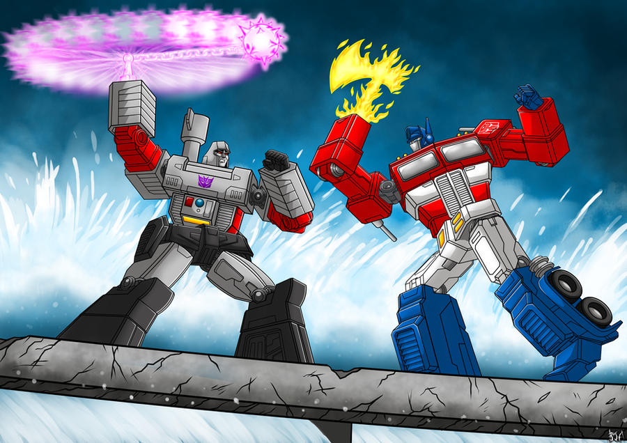 The duel at Sherman Dam by Berty-J-A