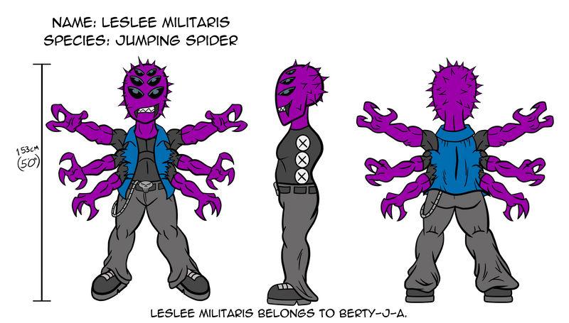 Leslee Militaris by Berty-J-A