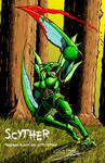 SCYTHER- Blood, Guts version