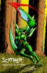 SCYTHER- Blood, Guts version