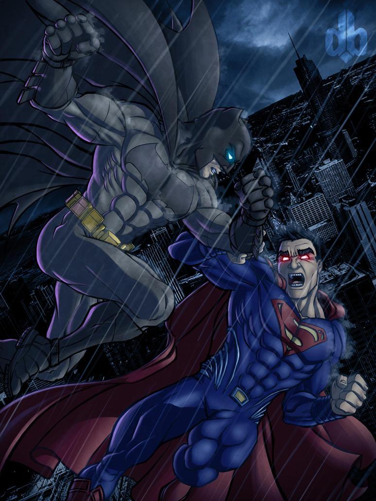 God versus Man, Day versus Night by darkeblue