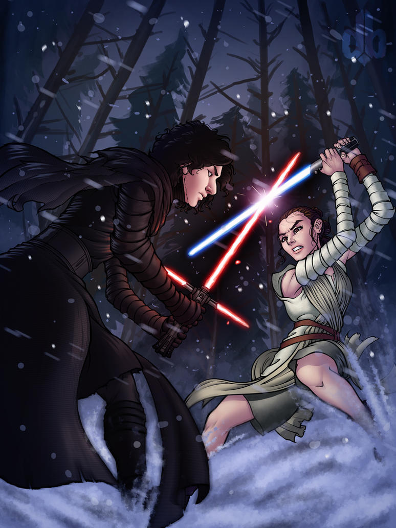 Star Wars TFA Poster by darkeblue