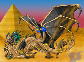The Pharaoh Dragon by Galidor-Dragon