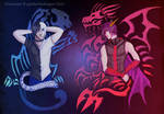The Tiger and the Dragon by Galidor-Dragon