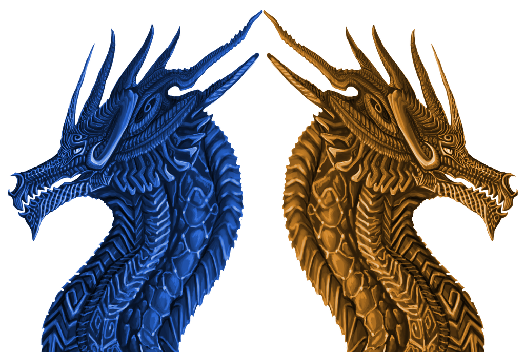 Celtic Dragons By Galidor Dragon On DeviantArt