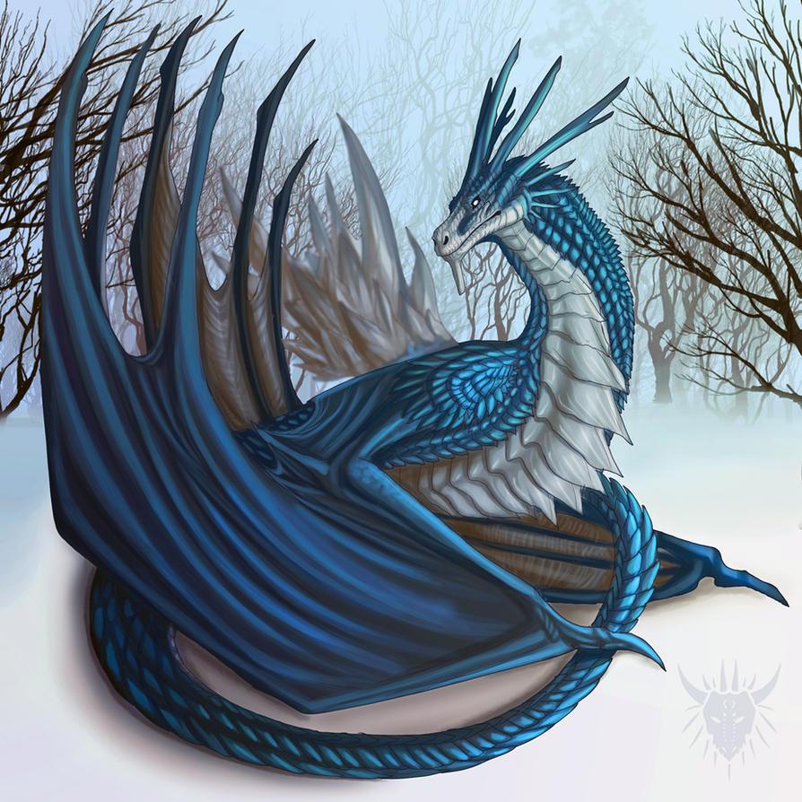 Frozen Thunder by Galidor-Dragon