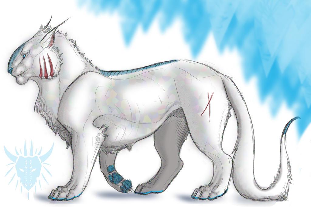 Crystalix by Galidor-Dragon