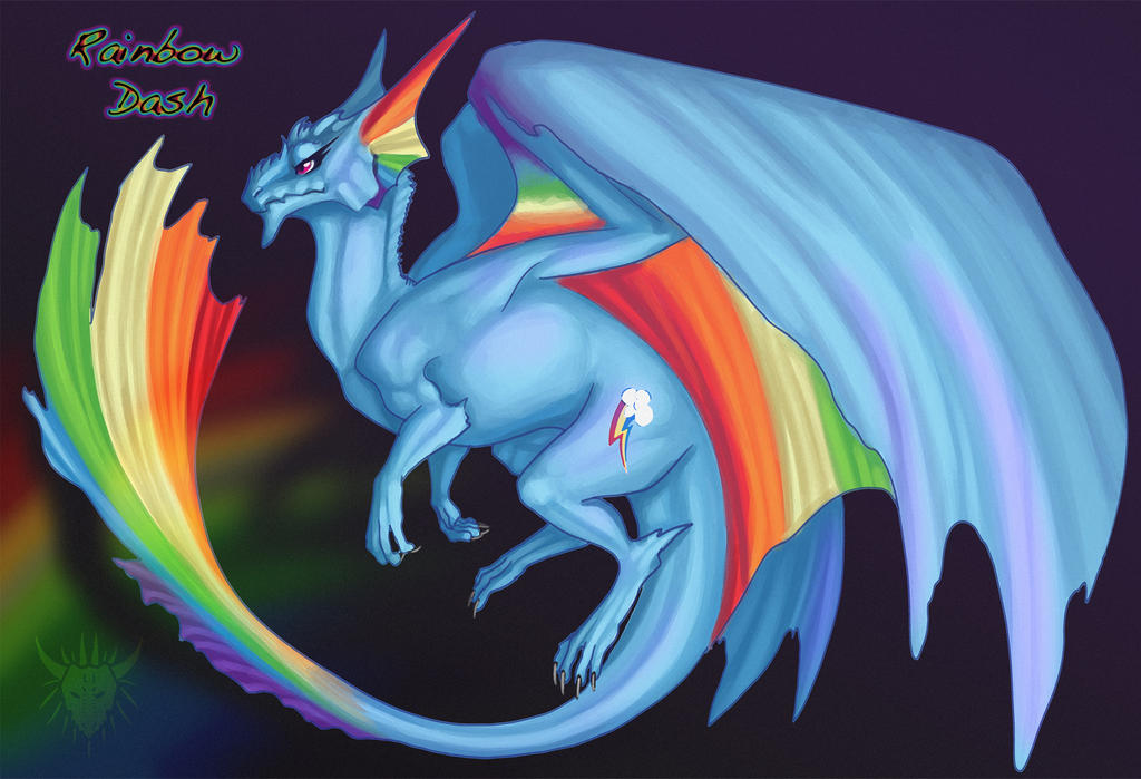 big rainbow dragon wallpaper - photo #28