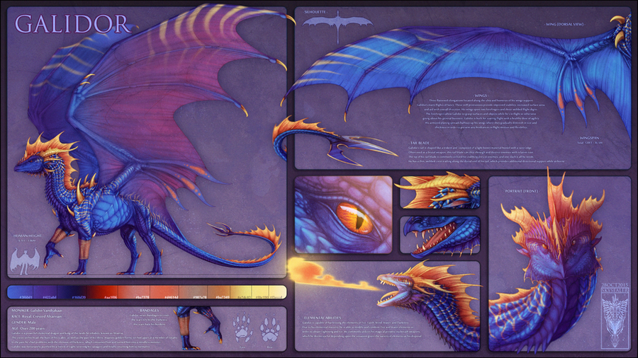 Galidor Reference Sheet by Galidor-Dragon