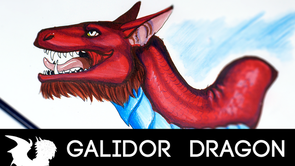 HOW TO DRAW YOUR DRAGON TUTORIAL! Ears by Galidor-Dragon