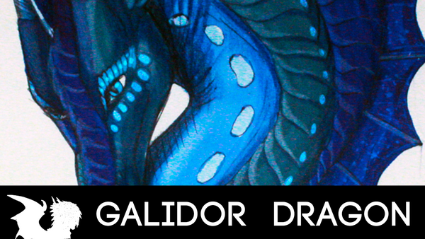 HOW TO DRAW DRAGONS TUTORIAL! Eyes by Galidor-Dragon