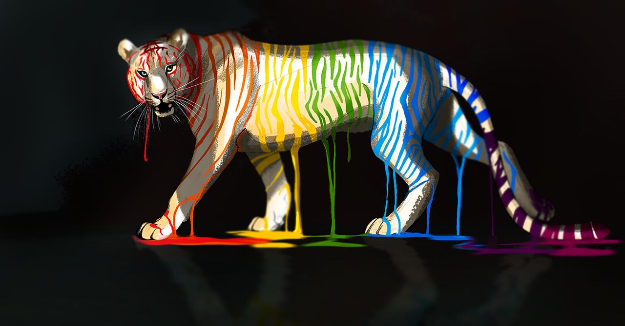 Keshet Tigris by Galidor-Dragon