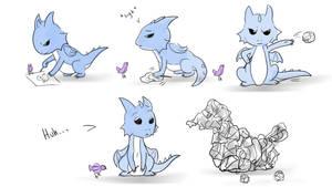 Big World Little Dragon - Inspiration by Galidor-Dragon