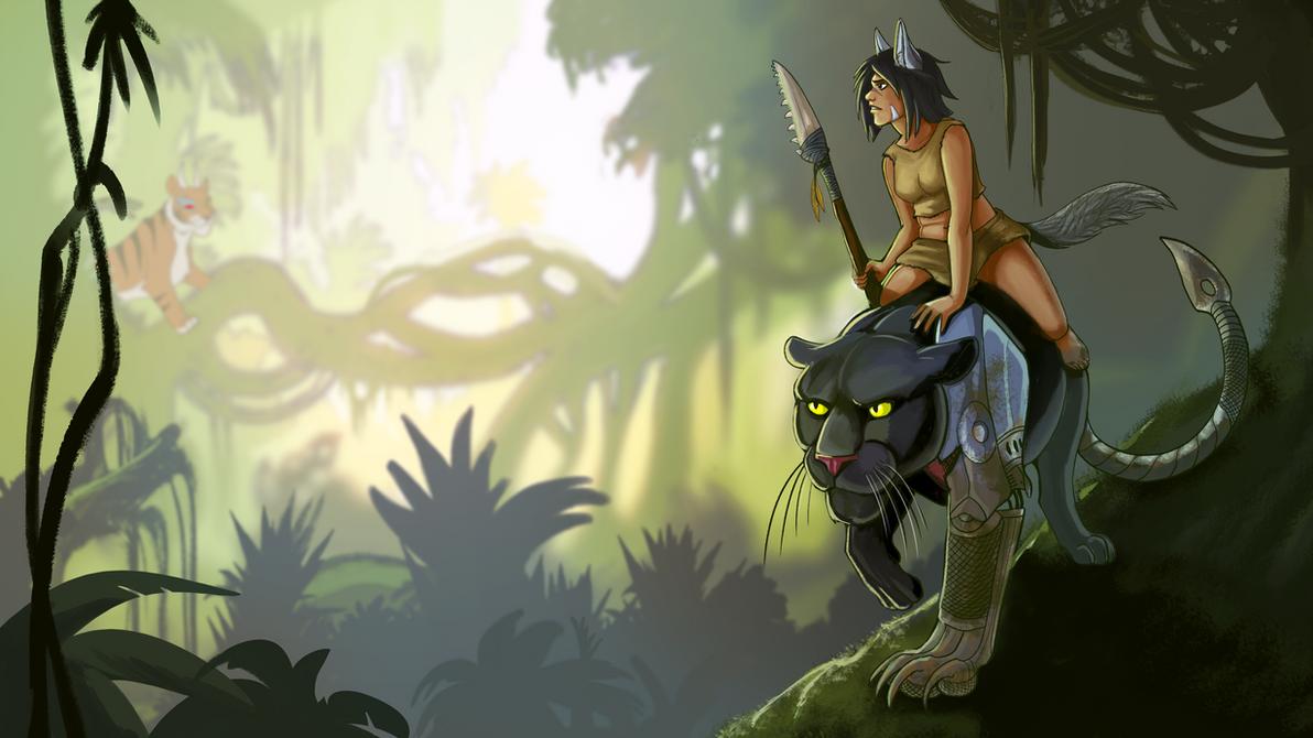 Princess Mowglinoke by Galidor-Dragon