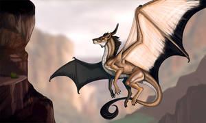 Canyon King by Galidor-Dragon