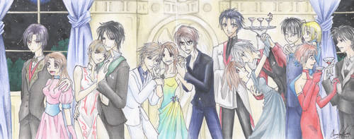 Prom of Anime by valdorien